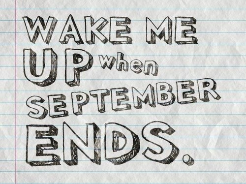 Wake Me Up When September End Green Day