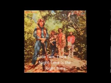 Creedence Clearwater Revival Night Time Is the Right Time vinyl