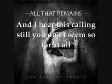 All that remains - This calling Lyrics