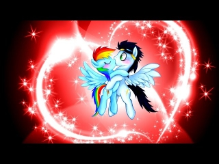 Rainbow Dash Love Soarin^^! [SoarinDash]