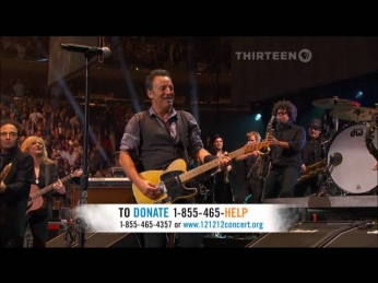 Bruce Springsteen & The E Street Band - Born to Run (Live at Sandy Relief 12-12-12)