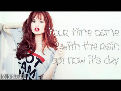 Debby Ryan ft. Chase Ryan & Chad Hively - We Ended Right (with lyrics)