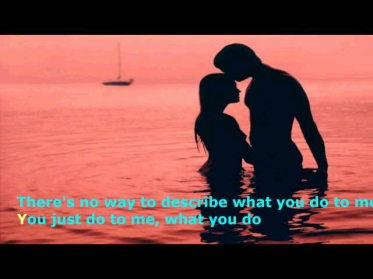 Sami-I,I love you like a love song baby karaoke