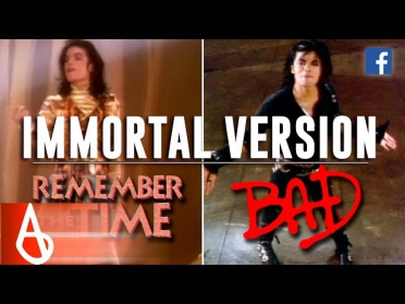 Michael Jackson - Remember The Time / Bad | Immortal Video