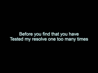Disturbed - Leave It Alone (In-Video Lyrics)