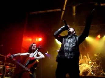 Apocalyptica (Feat Adam Gontier) - I Don't Care (Live in London Ontario)