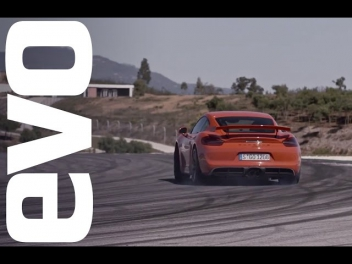 Porsche Cayman GT4 review | evo REVIEWS