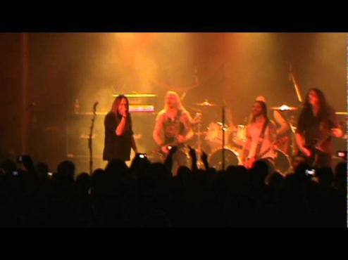Hammerfall - Breaking The Law (Judas Priest Cover) - 70000 tons of metal 2012