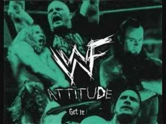 WWF RAW Is War Attitude Era Theme Anthrax - All Together