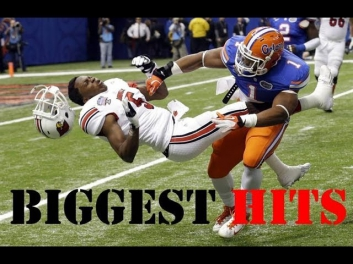 Here comes the boom- Biggest NCAA and NFL hits - HD